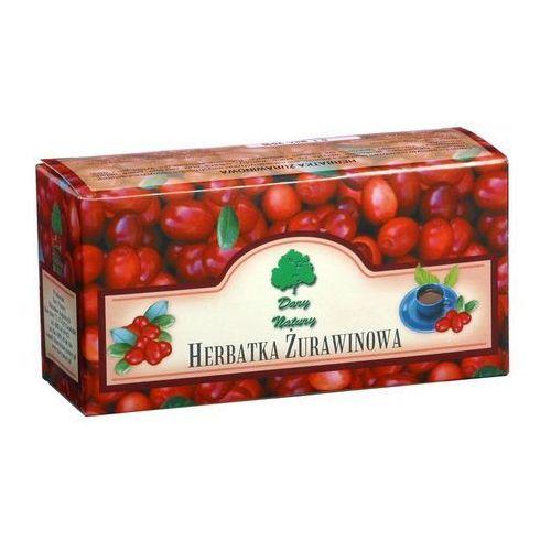 Dary natury Herbatka żurawinowa saszetki 20x2,5g (5902741001955)