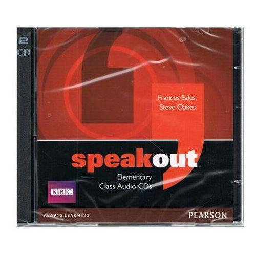 Speakout Elementary Zestaw 3 Płyt Audio CD do Podręcznika