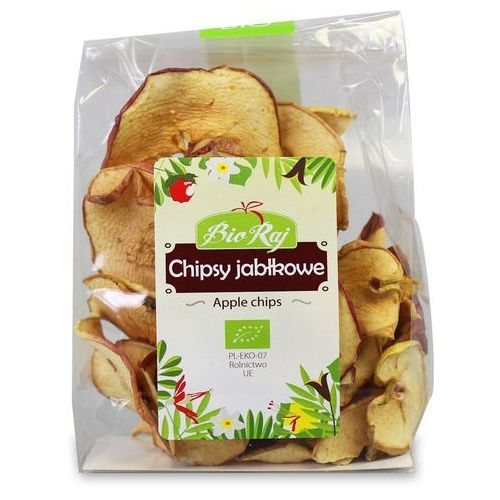 Chipsy Jabłkowe BIO 50 g Bio Raj, 5907738151866