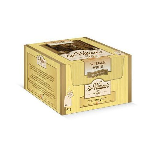Sir Williams Tea Williams White Herbata 50 saszetek