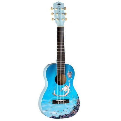 aurora v2 1/2 nylon mermaid - gitara klasyczna 1/2 marki Luna