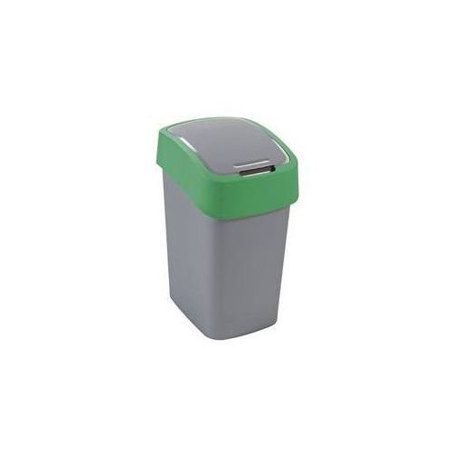 Kosz na śmieci Curver 02172-P80 Flipbin 50 l szaro-zielony - produkt dostępny w EUKASA.pl