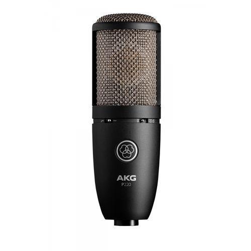 """Akg p220 - mikrofon pojemnościowy wokalny, studyjny -5% na pierwsze zakupy z kodem """"start""""!"""