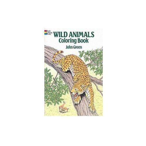 Wild Animals Colouring Book, Green, John