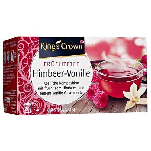 King's Crown Herbata Malinowo Waniliowa - Malinowo Waniliowa (4305615462400)