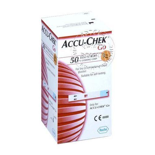 ACCU-CHEK GO paski testowe 50 sztuk z kategorii Paski testowe
