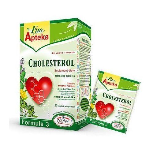 Herbata fito apteka cholesterol przeciw miażdżycy marki Herbaty malwa