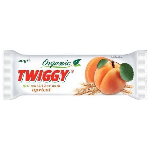 Twiggy (batony owocowe) Baton musli z morelą bio 20 g - twiggy (8594002672188)