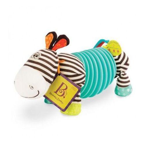 Zebra akordeon dla maluszków squeezy zeeby B.Toys