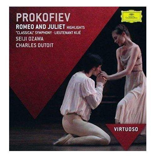 Prokofief:romeo & julia highlights (virtuoso) - seiji ozawa (płyta cd) marki Universal music