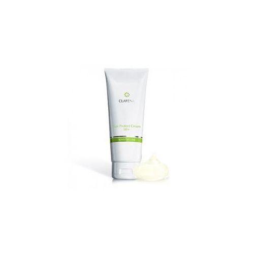 Clarena Sensitive Line, krem do twarzy, przeciwsłoneczny z filtrem SPF 50, 30ml