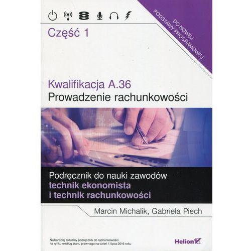 Kwalifikacja A.36. Prowadzenie rachunkowości cz.1 (2016)