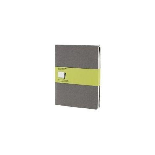 Moleskine Cahier XL, blanko, grau, 3er-Set (9788866134282)