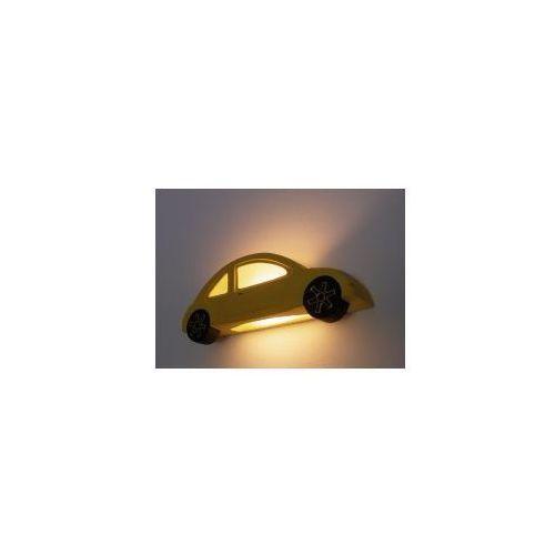 Garbusek 5407 żółty kinkiet ceramiczny marki Cleoni