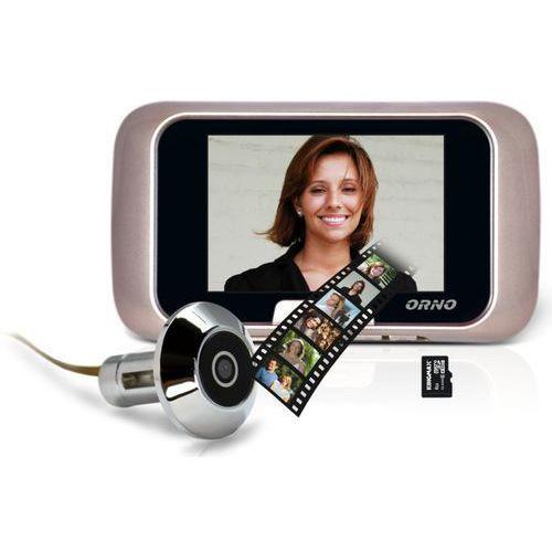 """Kamera do drzwi , WIZJER, JUDASZ, monitor LCD 2,8"""", zapis na karty micro SD, OR-WIZ-1101, OR-WIZ-1101"""