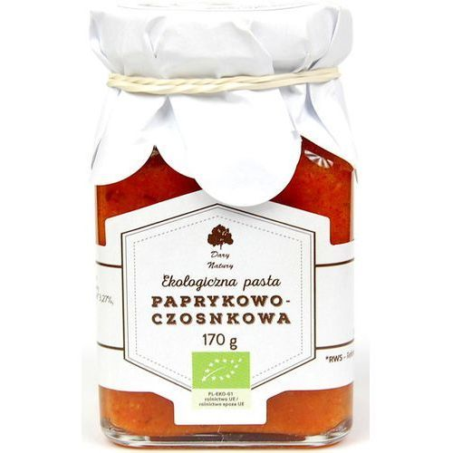 Dary natury Pasta paprykowo-czosnkowa eko 170 g (5902741009869)