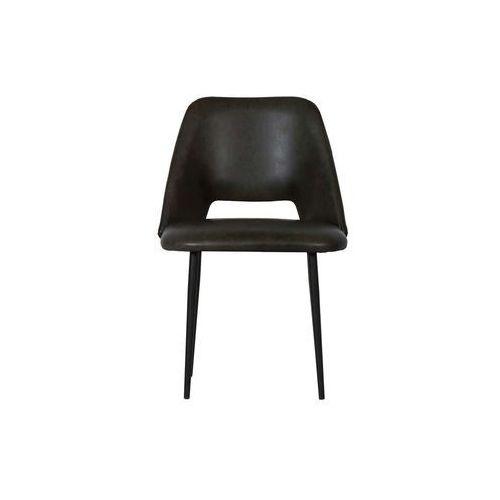 Be Pure Zestaw 2 krzeseł Fifties czarne 800059-Z, kolor czarny