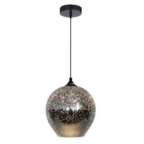 Lampa wisząca zwis żyrandol Candellux Galactic 2 1x60W E27 szary, srebrny 31-51295, 31-51295