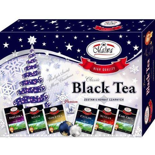 Bombonierka czarna malwa herbat na prezent święta marki Herbaty malwa