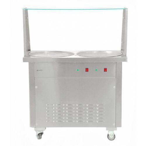 Maszyna do lodów tajskich   28 l/h   1400w   950x520x(h)770mm marki Cookpro
