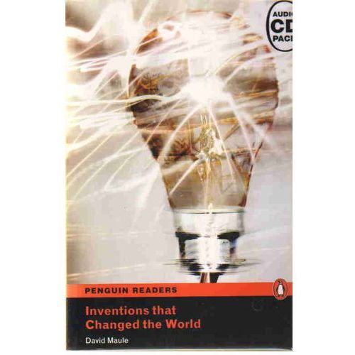 Inventions That Changed The World plus MP3 CD Penguin Readers Original, oprawa miękka