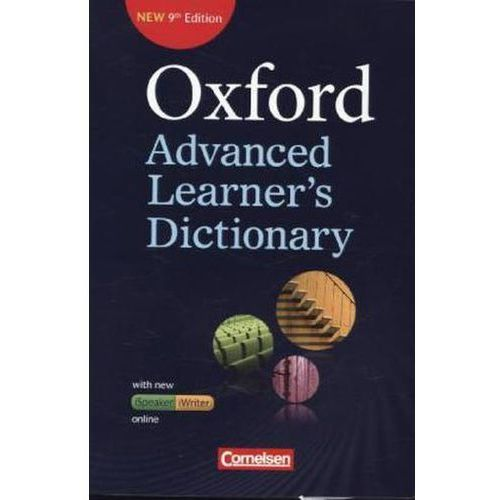 Oxford Advanced Learner's Dictionary (9th Edition) mit Online-Zugangscode (9783068018057)