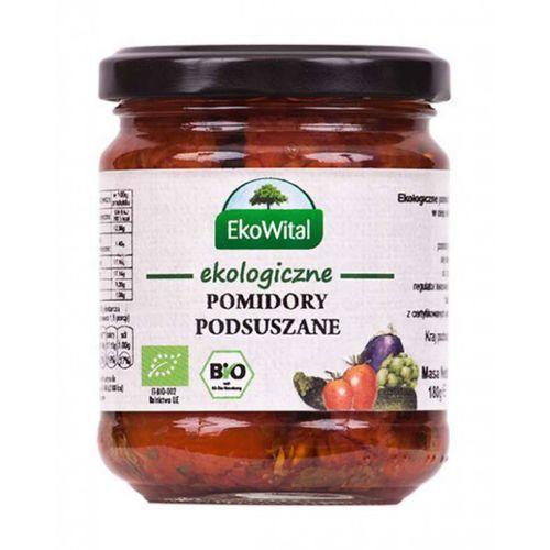 Pomidory podsuszane w oleju BIO 180 g - Ekowital