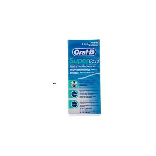 super floss (u) nić dentystyczna 50 odcinków marki Oral-b