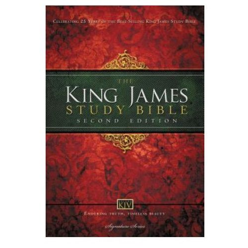 KJV Study Bible, Large Print, Hardcover, Red Letter Edition