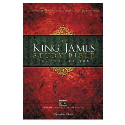 KJV Study Bible, Large Print, Hardcover, Red Letter