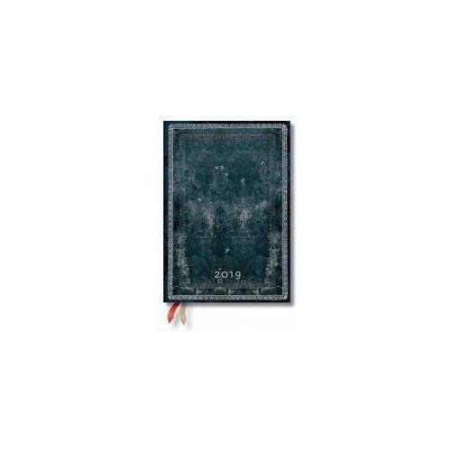 Kalendarz książkowy midi 2019 12M Midnight Steel (9781439749210)