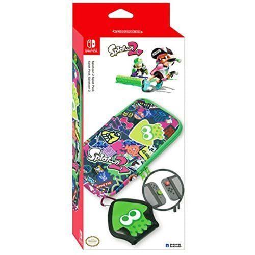 HORI Splat Pack Splatoon 2: Nintendo Switch Essential Accessories Pack - Akcesoria do konsoli do gier - Nintendo Switch