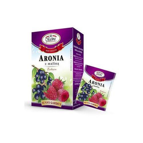 Malwa tea Malwa sunny garden herbata aronia z maliną owocowa