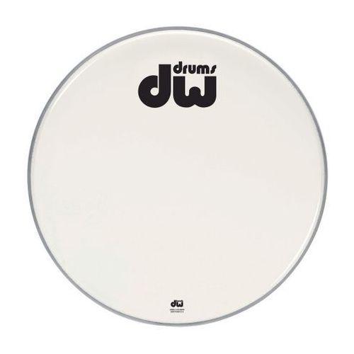 Drum workshop naciąg bass drum double a biały, gładki 18″ drdhaw18k