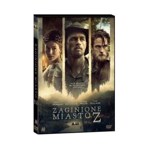 Monolith Zaginione miasto z (dvd) + książka