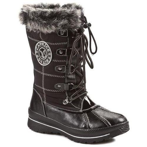 Śniegowce CAPRICE - 9-26201-23 Black/Black Pat, Caprice