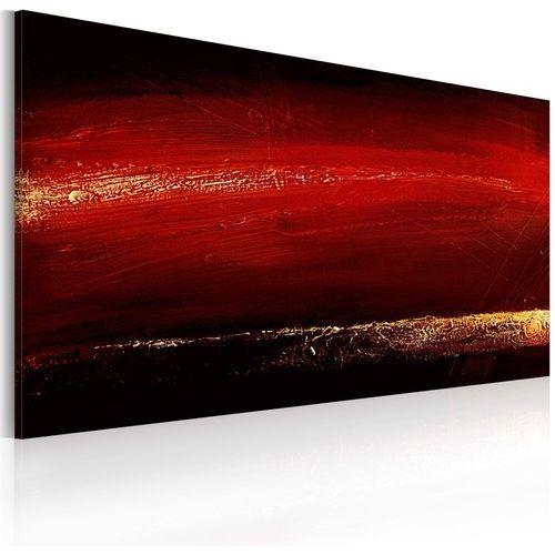 Obraz malowany - czerwona szminka marki Artgeist