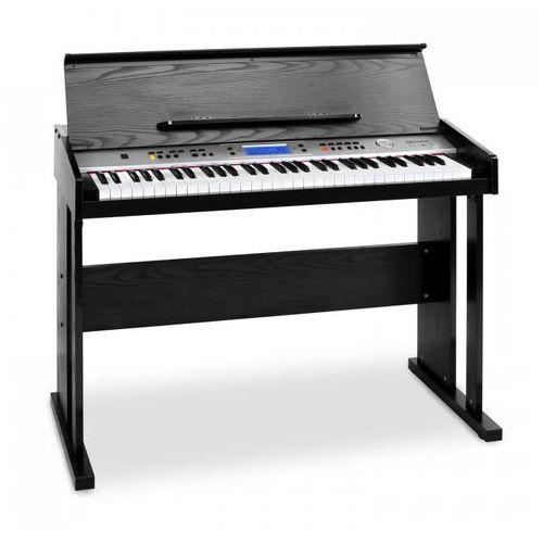 SCHUBERT Carnegy-61 pianino cyfrowe 61 klawiszy MIDI czarne (4260322375200)