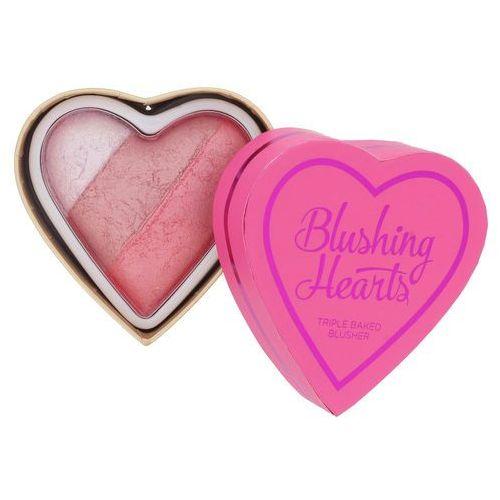 i heart makeup blushing hearts blusher - wypiekany róż do policzków bursting with love marki Makeup revolution