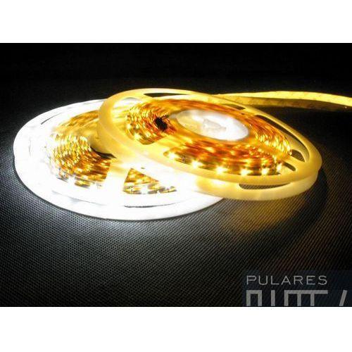 Taśma niewodoodporna LED PRO rolka 300diod/5mb kolor biały/żółty, kolor biały