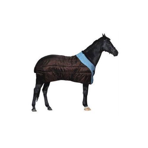 Derka York Madison brązowo-błękitna 145 cm - produkt dostępny w Pro-horse Sklep Jeździecki