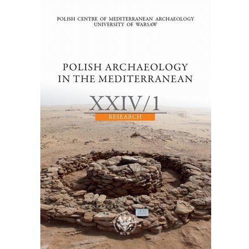 Polish Archaeology in the Mediterranean 24/1. Darmowy odbiór w niemal 100 księgarniach!, praca zbiorowa