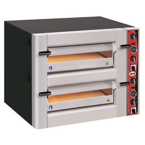 Piec do pizzy, podwójny z termometrem NOVA PC 66 DE firmy GMG