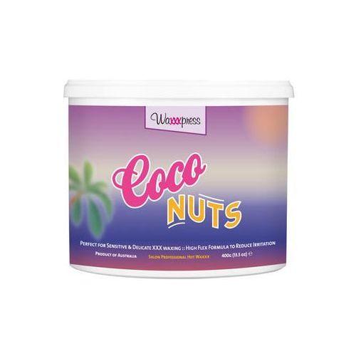 Waxxxpress - Coco Nuts 400 ml - Wosk do depilacji bez użycia pasków - 400 ml - oferta [0585e00831e215b4]