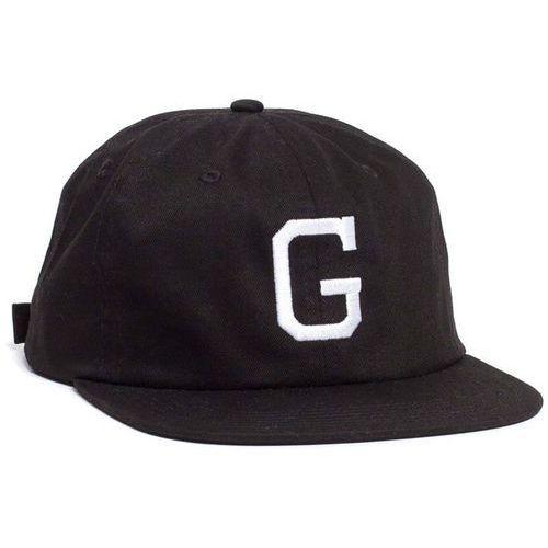 czapka z daszkiem GRIZZLY - Coliseum G Polo Strapback Black (BLK) rozmiar: OS, kolor czarny