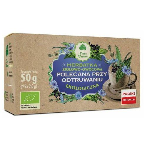 Dary natury - herbatki bio dystrybutor: bio planet s.a., wilkowa wieś Herbatka polecana przy odtruwaniu bio (25 x 2 g) - dary natury