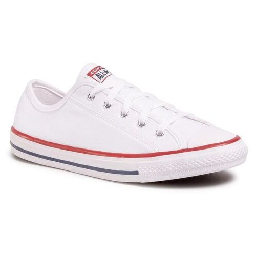 Trampki - ctas dainty ox 564981c white/red/blue, Converse, 35.5-41