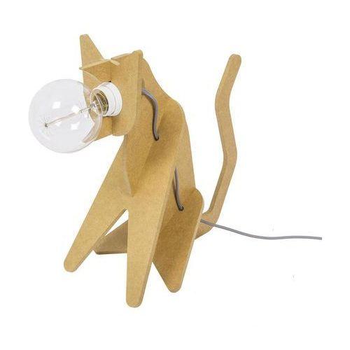 GET OUT - Lampa stojąca Kot Żółty Dł.35cm