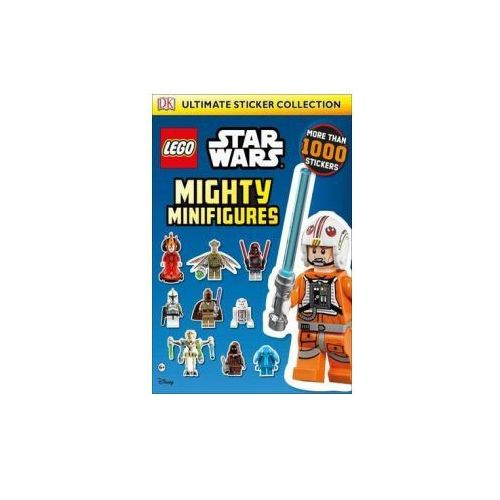 LEGO (R) Star Wars (TM) Mighty Minifigures Ultimate Sticker Collection, oprawa miękka
