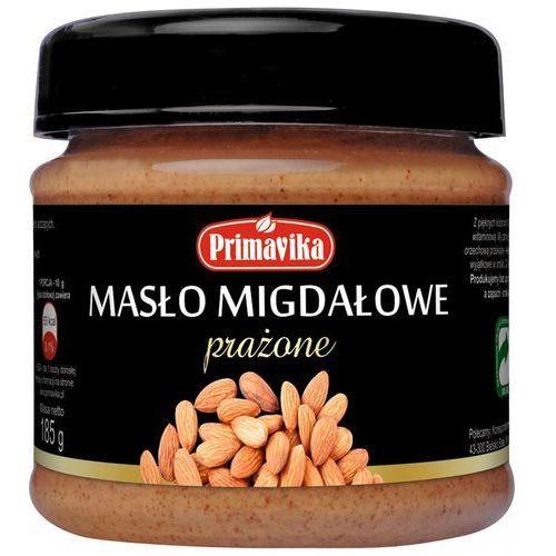 masło migdałowe słodzone agawą 185g, 5900672300857